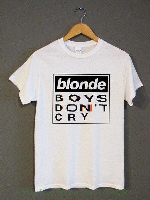 fbc5e8ff Blonde Boys Don't Cry Tour T Shirt Frank Ocean Music Concert White Unisex  Shirt Different Colours High Quality