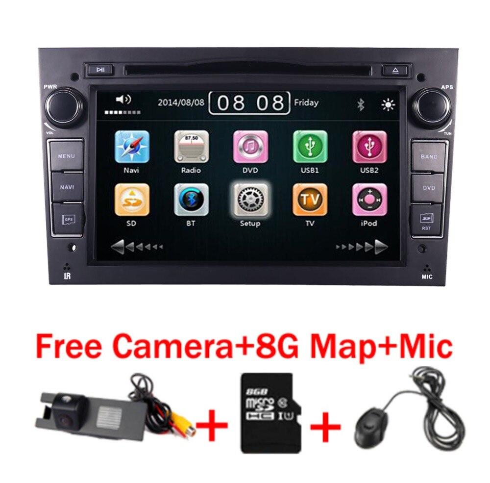 7 écran tactile DVD De Voiture Pour Opel Astra Vectra Antara Zafira Corsa GPS Navigation Radio Audio Vidéo USB SD commande au volant