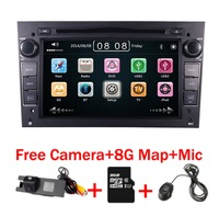 7 Touch screen Car DVD For Opel Astra Vectra Antara Zafira Corsa GPS Navigation Radio Audio Video USB SD Steering wheel control