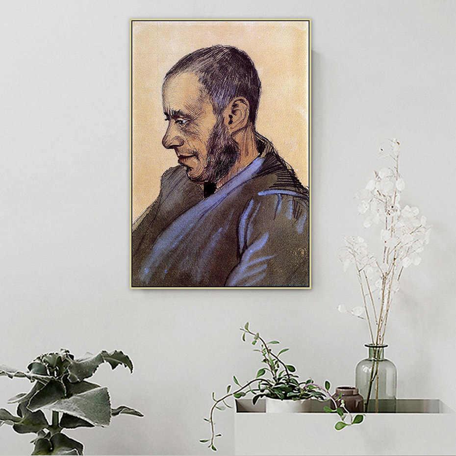 De Bookseller Blok Van Gogh Beroemde Meester Kunstenaar Canvas Schilderij Poster en Print Wall Art Pictures voor Woonkamer Thuis decor