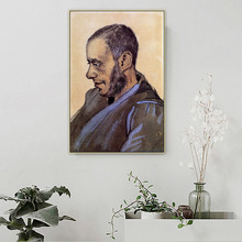 The Bookseller Blok Van Gogh Famous Master Artist Canvas Painting Poster and Print Wall Art Pictures for Living Room Home Decor
