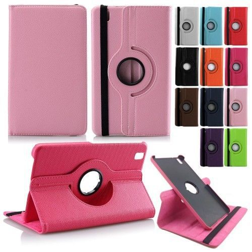 For Case Samsung Galaxy Tab Pro 8.4 T320 T321 T325 Stand Smart Tablet PU Leather Case Cover Rotating Screen Protector+Stylus Pen
