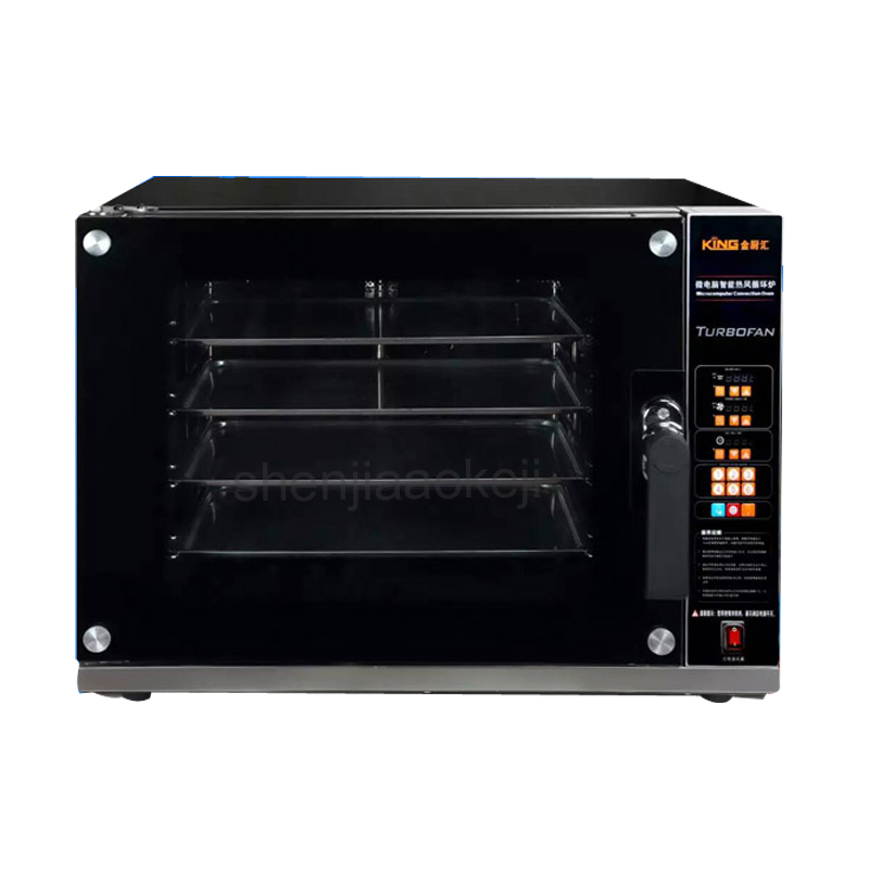 Electric Oven for Bread/Pizza 220-240v 4500w 1pc Commercial Bakery Oven Baking Oven Bakery Machine CK02C Multifunctional oven ep1st hot sale electric pizza baking bakery oven with timer for commercial use for making bread cake pizza