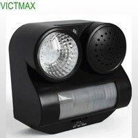VICTMAX Ultrasonic PIR Bird Repeller Flashlight Bird Repeller Control With LED Flashlight Garden Supplies