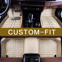Auto Styling Custom Make Special Car Interior Floor Mats Pads Cover For Ford Mondeo Edge Escor