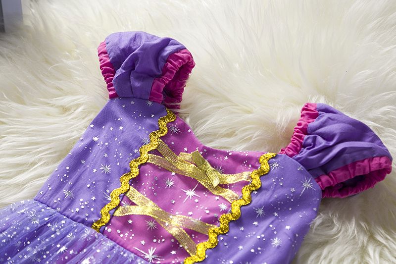 Infant Baby Girls Rapunzel Sofia Princess Costume Halloween Cosplay Clothes Toddler Party Role-play Kids Fancy Dresses For Girls