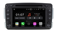 Quad core 1024*600 Android 5.1.1 Car DVD Player GPS for Benz C Class W203 W209 W463 W639 W163 Viano Vito Radio WiFi Bluetooth