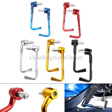 1Pair CNC 22mm Handlebar Motorcycle ProGuard Brake and Clutch Levers Guard Protection Universal Fit Honda Suzuk Yamaha Kawasaki