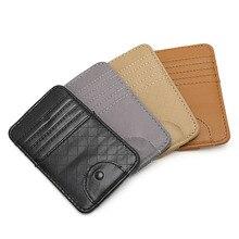 Car Auto Sun Visor Point Pocket Organizer Pouch Bag Card Glasses Storage Holder