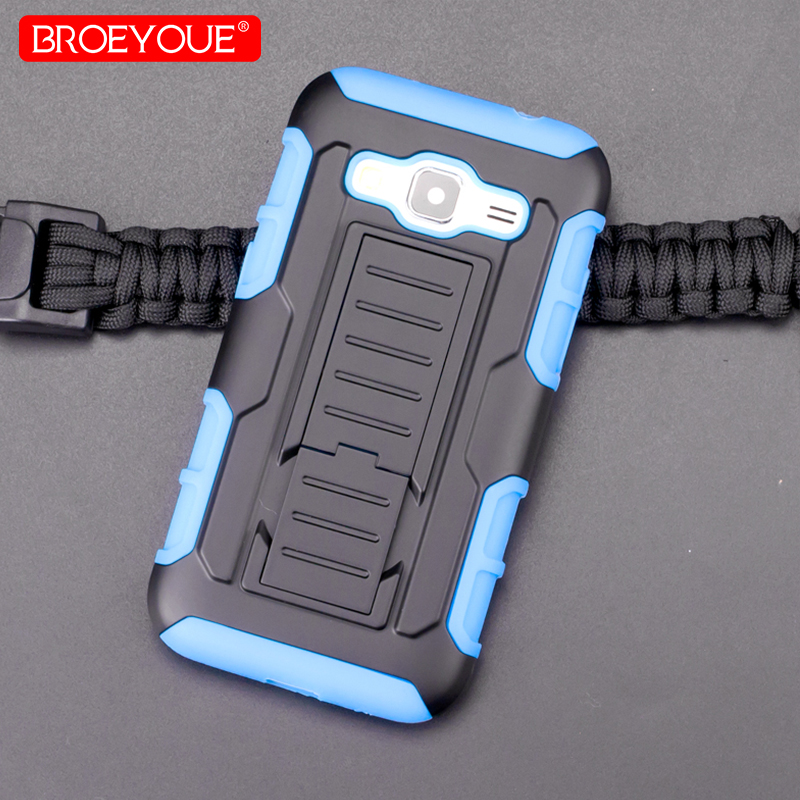 BROEYOUE Aromor Case For Samsung Galaxy Core Prime G360H G361H SM-G360H SM-G361H G360 Impact Holster Shockproof Phone Cases Bags