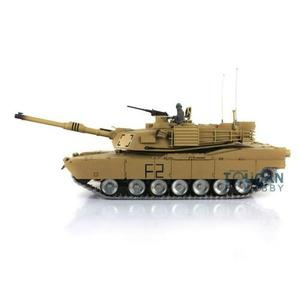 Image 3 - Henglong 1/16 echelle TK 6.0S personnaliser Abrams RC Tank 3918 360 tourelle canon recul TH12946