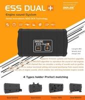 Dual 2 speaker SENSE INNOVATIONS ESS DUAL+ ENGINE SOUND SYSTEM Real Engine Sound Simulator for scx10 trx4 xmaxx Crawler RC Car