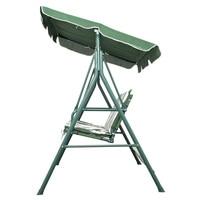 Патио металлические качели стул 3 местный гамак скамейке размахивая мягкая