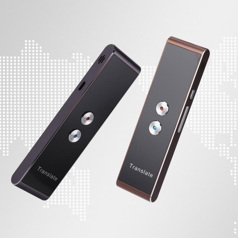 Portable Smart Rede Übersetzer Zwei-Weg Echtzeit 30 Multi-Sprache Übersetzung Für Lernen Reisen Business-Meeting