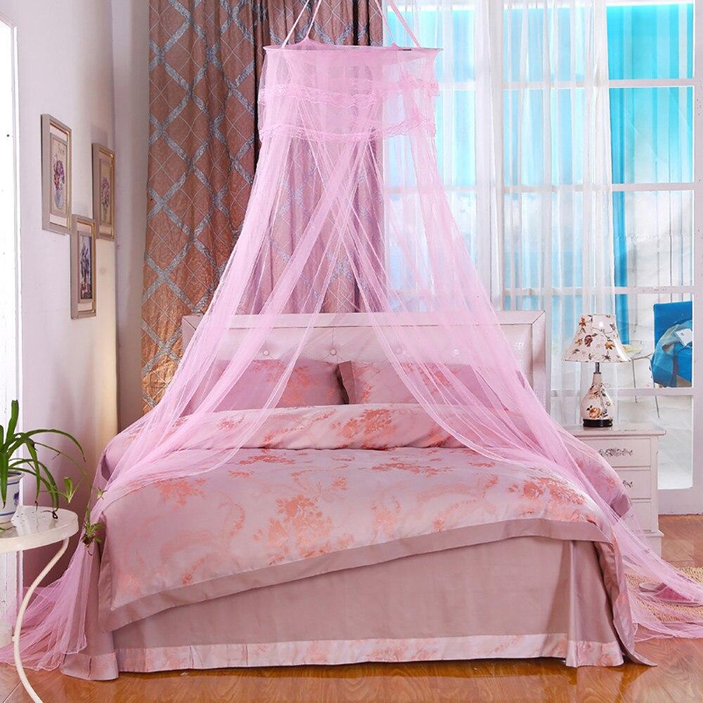 Online Shop Moskitonetz Schlafzimmer Home Vordächer Bett überdachung Filet  Vorhang Mücken Insekten Mesh Moskitonetz Moustiquaire Baldachin Klamboe ...