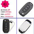 Бесплатная доставка OEM 3 кнопки 433 МГц PCF7961 дистанционный флип Автомобильный ключ для Renault Kadjar Captur Symbol Megane 3 CWTWB1G767 No Mark