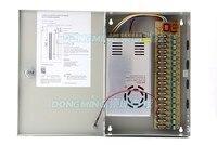 18CH 360w 12v 30A box power supply waterproof DC12V led electronic transformer 18 channel monitor CCTV camera switch 18B