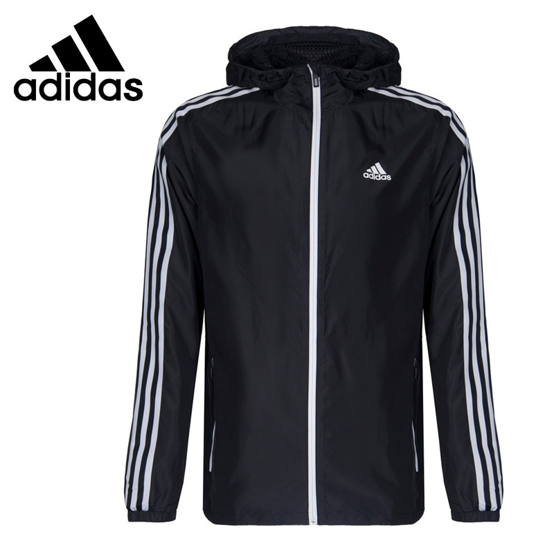 цены Original New Arrival Adidas Performance SA WB WV 3S Men's jacket Hooded Sportswear