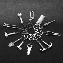 1 Pcs New Fashion Mini Creative Wrench Spanner Key Chain Car Tool Key Ring Keychain Jewelry Gifts New Design Nice Jewelry Gift