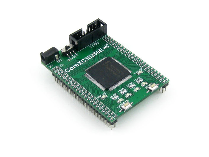 купить Waveshare XILINX FPGA Development Core Board Xilinx Spartan-3E XC3S250E Evaluation Board+ XCF02S FLASH Support JTAG= Core3S250E по цене 2175.24 рублей