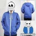 New Game Undertale My Skeleton Sans Papyrus Hoodie Coat Cosplay Costume Warm Zipper Winner Sweatshirt hoody jacket