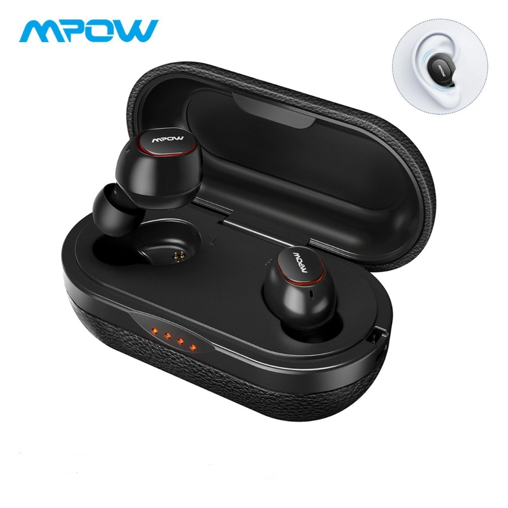 Mpow T5 TWS Earphones Bluetooth 5 0 Wireless Earbuds IPX7 Waterproof Headset 36H Playing Time Support