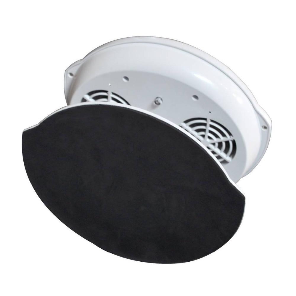 White Sensor Nail Art Polish Dryer Fan with Cool & Warm Breeze ...