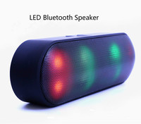Bluetooth Speaker LED Portable Wireless Speaker Mini Sound System 3D Stereo Music MP3 Player Surround Support TF AUX USB