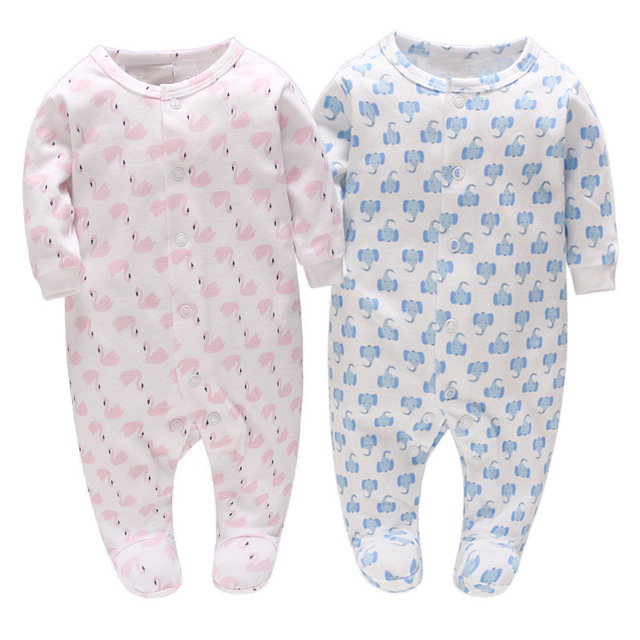82dcbdc90f25 Picturesque Childhood Twin Baby Boy Girl Clothes 0 12 Months Cotton ...