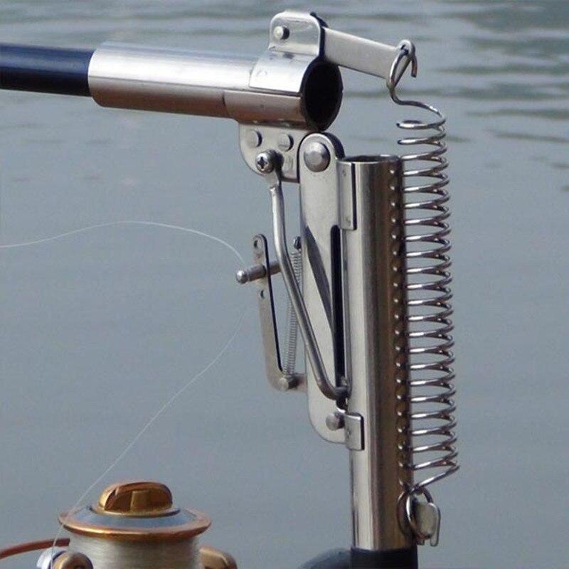 2.1 m 2.4 m 2.7 m 3.0 m Canne À Pêche Automatique (sans Bobine) mer Rivière Lac Piscine De Pêche Pôle Dispositif + Matériel En Acier Inoxydable