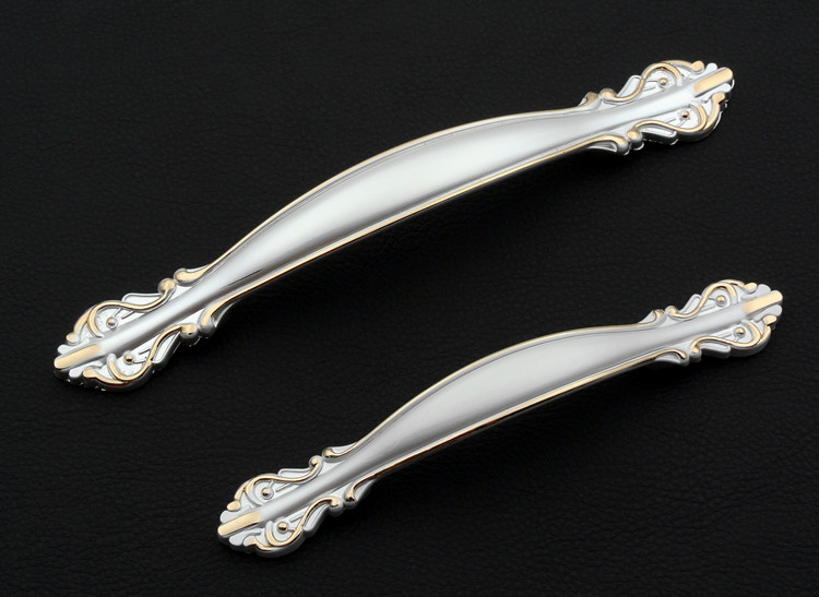 3 75 Quot 5 Quot Unique Silver Cabinet Handle Kitchen Chic