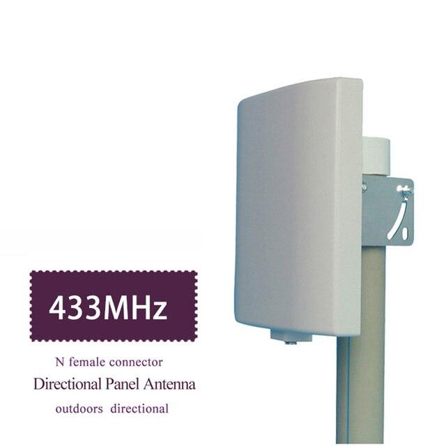 UHF アンテナ 433MHz 指向性アンテナ 423 〜 443MHz 壁マウントパッチパネル平面アンテナ Lorawan NB IOT アンテナ