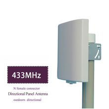 UHF antenna 433MHz directional antenna  423~443MHz Wall Mount Patch Panel Flat Antenna Lorawan NB IOT antenna