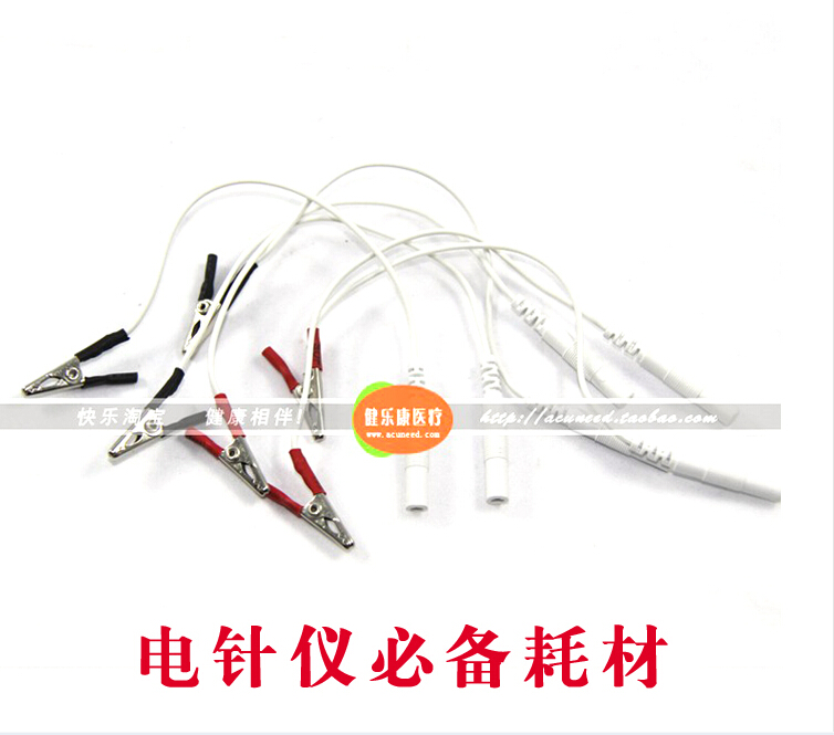 12pcs/lot Clip Cable Acupuncture Needles Clip for SDZ-II Electronic Acupuncture Treatment Instrument Hwato Machine accessories hwato sdz ii treatment instrument electronic acupuncture stimulator machine