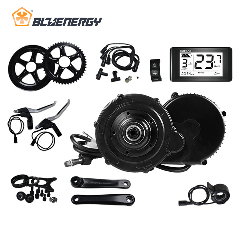 8fun Bafang BBS BBS01 BBS01B Electric Bicycle Mid Drive Motor Conversion Kits For Electric Bike 36v 250w Brushless Motor 68mm brushless side hung motor 36v 350w bafang 8fun bbs bbs01 bbs01b mid drive motor kit electric bicycle conversion kit w display
