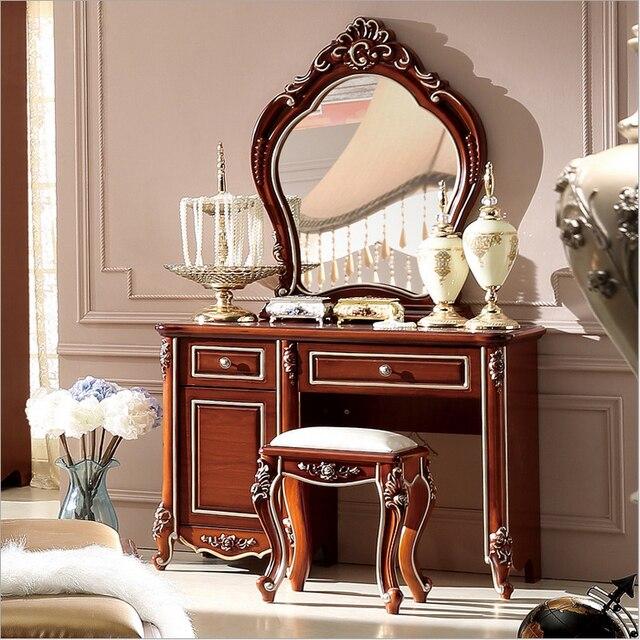 Moderna de gama alta de la boda vanidad mesa de madera muebles para ...