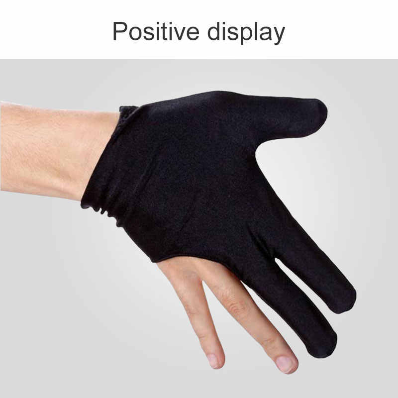 Left Hand Billiard Gloves 3-Finger Glove Sport Specialized High Quality Practical Billiard/Yoyo Protection Dropshipping