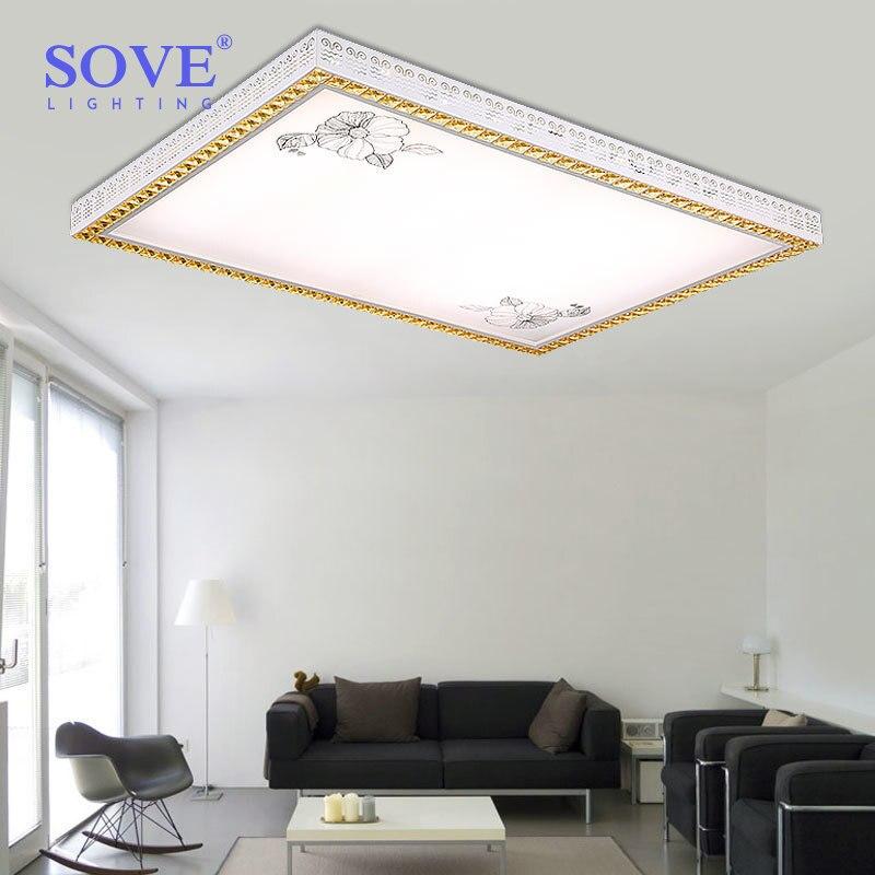 Sove Moderne Led Deckenleuchte Schlafzimmer Deckenleuchten Luminarias Para Sala Dimmen Leuchten Wohnzimmer