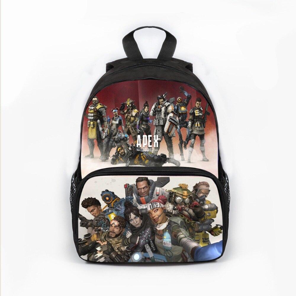 Apex Legends Battle Royale School Backpack Teenagers Boys Girls Forter Orthopedic School Bags Backpack  Shoulder Bag