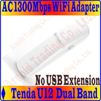 Tenda U12 1300M 11 AC Dual Band Wireless USB3 0 Adapter 2 4G5GHz Dual Band Adapter