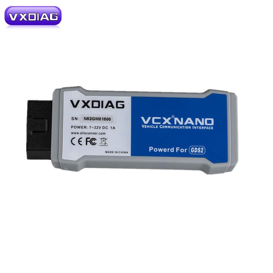 VXDIAG VCX NANO Support for GM Tech2Win and GDS2 Instead for GM Original Tool for GM MDI VXDIAG VCX NANO for GM