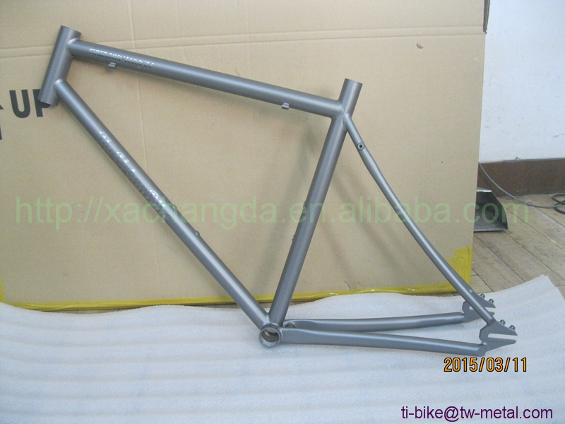 US $1000 0 |Titanium Track Bicycle Frames Custom Titanium Fixed Gear Bike  Frame China Titanium Single Speed Bicycle Frame with Sandblasting-in  Bicycle