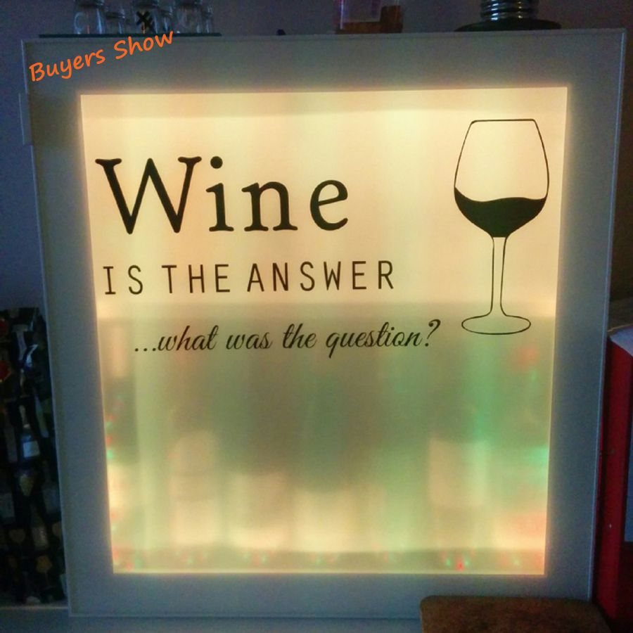 free shipping funny kitchen stickers wine decals ,kitchen wall decor ...