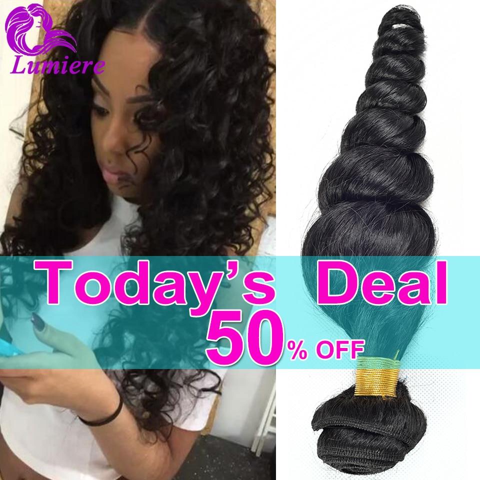 Top 8A Peruvian Virgin Hair Loose Wave 3Bundles Unprocessed Human Hair Bundles Peruvian Loose Wave Virgin Hair Weave Extensions