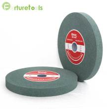 1 piece White green brown grinding wheel 6 inch diameter 32mm hole GC WA A abrasive grain size 46 ~120 TZ79