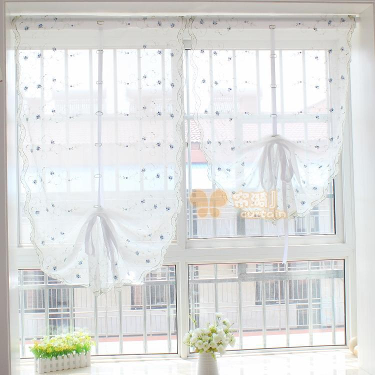 cortinas para cocina ventana pequeña