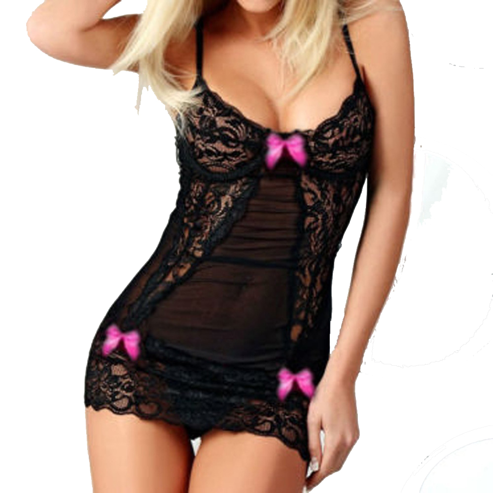 Fashion Newest <font><b>Sexy</b></font> <font><b>Lingerie</b></font> Women Erotic Lace Bra Baby <font><b>Dolls</b></font> Dress Teddy <font><b>Sexy</b></font> Babydoll Underwear Lace Sleepwear <font><b>Sexy</b></font> <font><b>Costumes</b></font> image