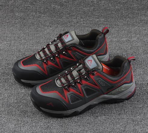 Hommes chaussures de marche en plein air mâle imperméable respirant en cuir véritable anti-dérapant voyage trekking camping baskets troadfairy