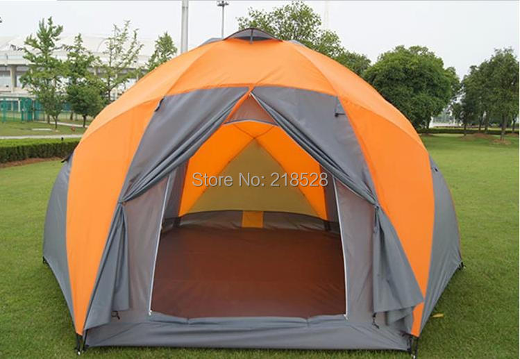 Outdoor 3000mm Popular Dome Tent C&ing Tent Waterproof Tent for 8 10 persons casual tourism c&ing tent Free Shipping-in Tents from Sports ... & Outdoor 3000mm Popular Dome Tent Camping Tent Waterproof Tent for ...