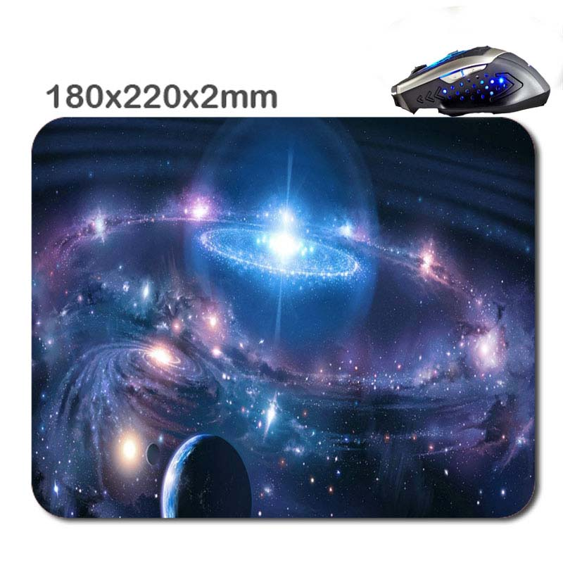product 220*180*2mm Design teoria universo New Arrivals Customized Rectangle Non-Slip Rubber Gaming Soft Durable notebook Mouse pad
